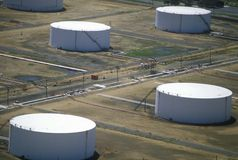 Oil tanks, NJ Stock Images