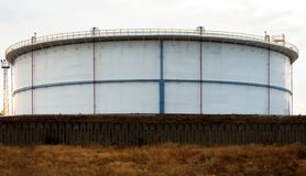 Oil tanks of Public stockholding Stock Photos