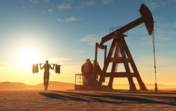 Oil Royalty Free Stock Photography