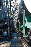 Oil terminal Stock Photography
