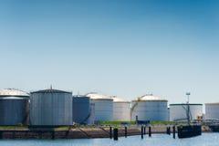 Oil terminal Stock Photo