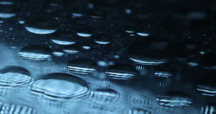 Oil Texture in the Water stock footage