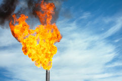 Oil torch Royalty Free Stock Image