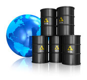 Oil trading concept Royalty Free Stock Photography