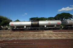 Oil train Royalty Free Stock Photo