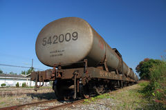 Oil train Stock Photo