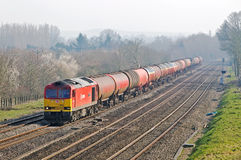 Oil train Stock Photos