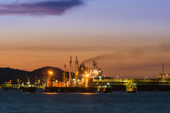 Oil transfer station Stock Photography