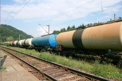 Oil transport Stock Photography