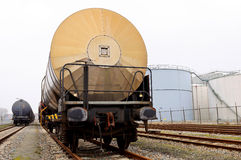 Oil transport Royalty Free Stock Images