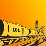 Oil transportation Royalty Free Stock Photography