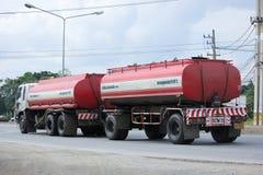 Oil Truck of Sa Nga Transport. Royalty Free Stock Image