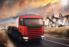 Oil truck Stock Photos