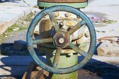 Oil valve Royalty Free Stock Photos