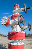 Oil valve Royalty Free Stock Photography