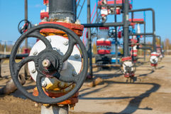 Oil valve Stock Images