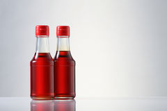 Oil. Various types of oil in bottles Royalty Free Stock Images