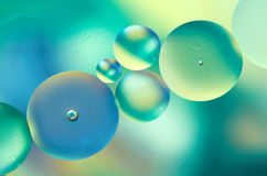 oil vatten Royaltyfri Fotografi