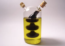 Oil and Vinegar. Photo of Oil and Vinegar Holder stock photos