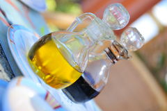 Oil and vinegar Royalty Free Stock Images
