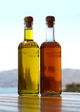 Oil and vinegar Stock Photo