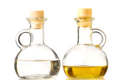 Oil and vinegar Royalty Free Stock Image