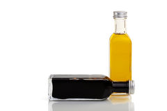 Oil and vinegar set royalty free stock photo