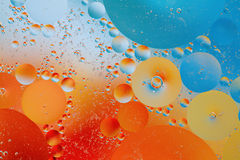 Oil and water Stock Images