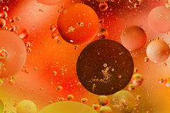 Oil and water Royalty Free Stock Images