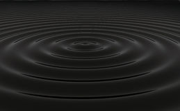 Oil water ripples Stock Images