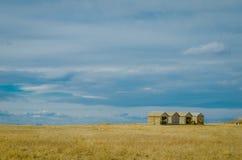 Barn and Sky royalty free stock photo