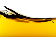 Oil Wave. On a white background Royalty Free Stock Photo