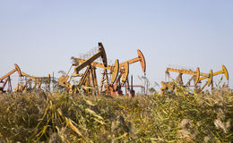 Oil well Royalty Free Stock Images