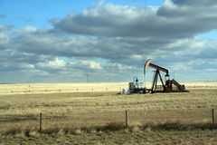 Oil well, Royalty Free Stock Photography