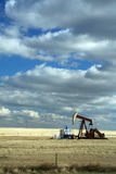 Oil well, Royalty Free Stock Images