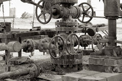 Oil well. Stock Photo