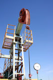 Oil well. Royalty Free Stock Photo