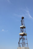 Oil Well Derrick Royalty Free Stock Photography