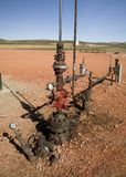 Oil well Head Stock Images