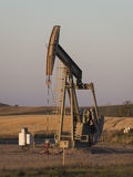 An Oil Well in North Dakota Royalty Free Stock Photos