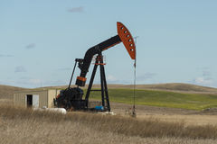 An Oil Well in NorthDakota Royalty Free Stock Photography