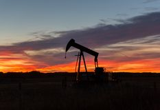 Free Oil Well Pump Royalty Free Stock Photo - 101979485