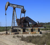 Oil Well Pump Royalty Free Stock Photo