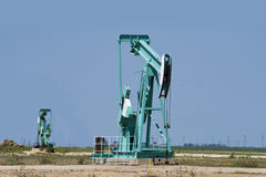 Oil Well Pumper. Stock Photography