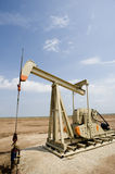 Oil Well or Pumpjack Royalty Free Stock Photos