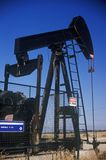 Oil well at Taft, CA Royalty Free Stock Photo