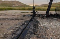Oil Well, Turkey Stock Photo