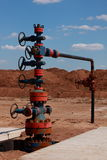 Oil Wellhead Royalty Free Stock Photos