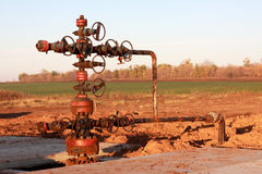 Oil Wellhead Stock Photos