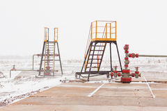 Oil Wellhead Stock Image